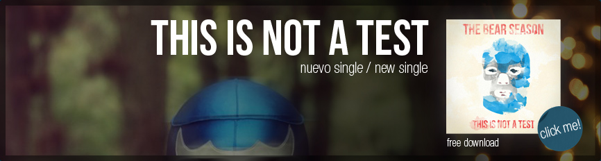 This Is Not A Test - Nuevo Single / New Single